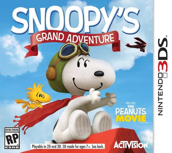 Cover zu The Peanuts Movie: Snoopy's Grand Adventure