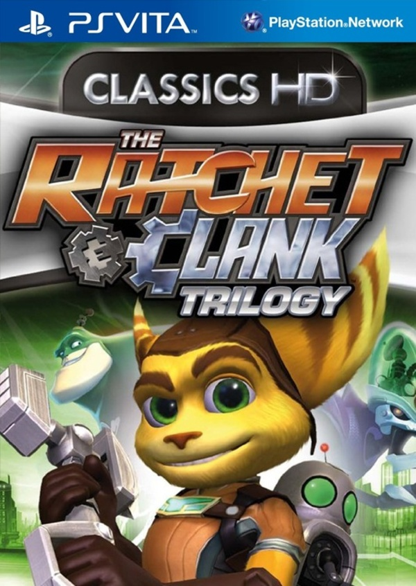 Cover zu The Ratchet & Clank Trilogy