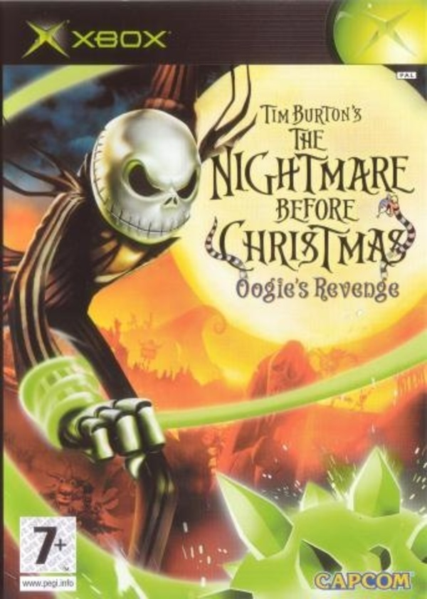 Cover zu Tim Burton's The Nightmare Before Christmas: Oogie's Revenge