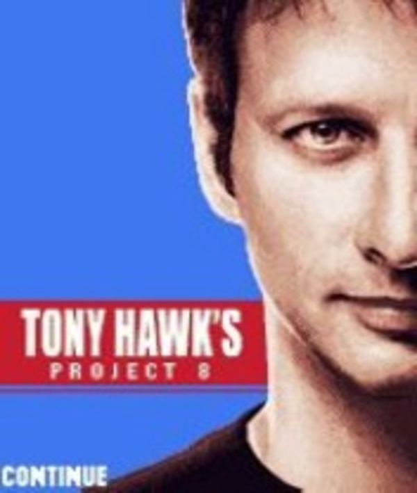Cover zu Tony Hawk's Project 8