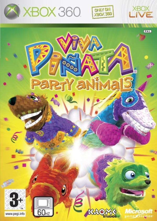 Cover zu Viva Piñata: Party Animals