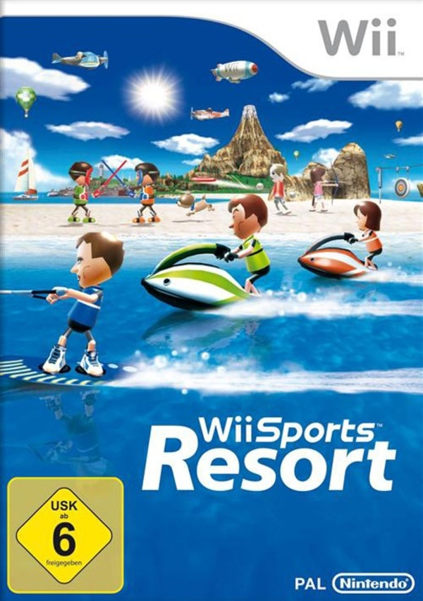 Cover zu Wii Sports Resort