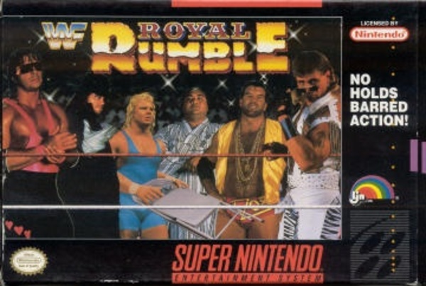Cover zu WWF Royal Rumble