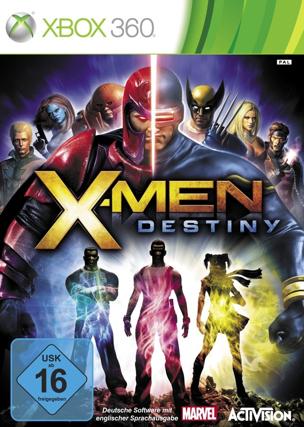 Cover zu X-Men: Destiny