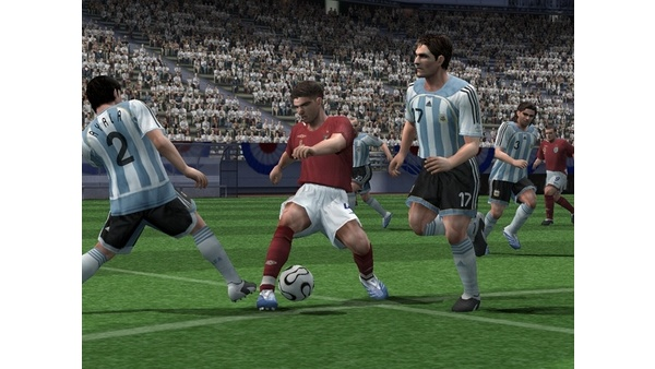 Screenshot zu Pro Evolution Soccer 6 PS2 (PS2) -