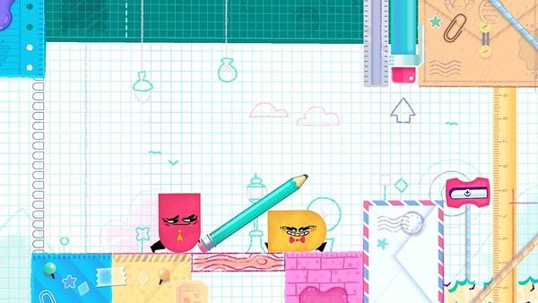 Screenshot zu Snipperclips Plus (Nintendo Switch) - Screenshots