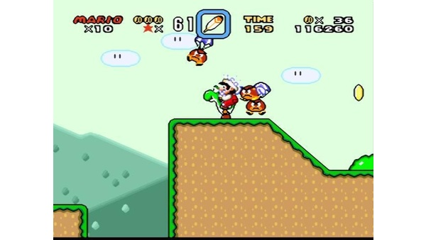 Screenshot zu Super Mario World SNES (SNES) - Screenshots