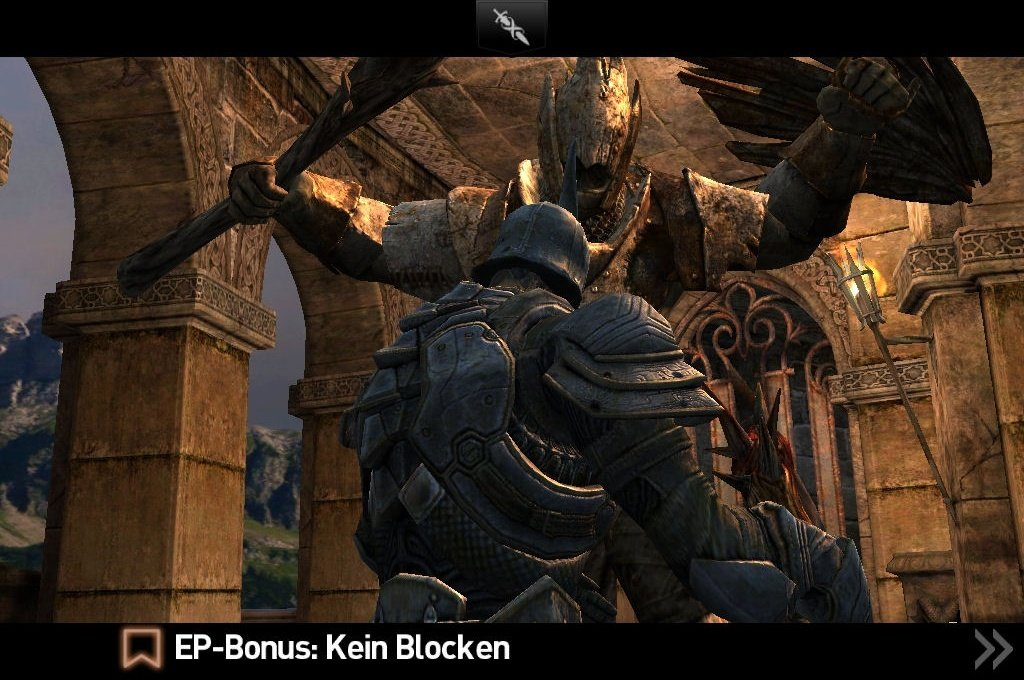 infinity blade 2 im test epics ipad abstecher gamepro. Black Bedroom Furniture Sets. Home Design Ideas
