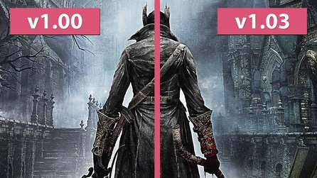 Bloodborne - Ladezeitenvergleich vor und nach Patch 1.03 der digitalen Download Version