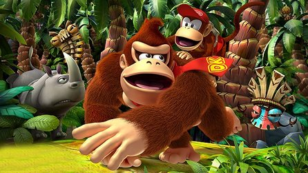 Donkey Kong Country Returns 3D - Gameplay-Trailer: Die Affen sind los!