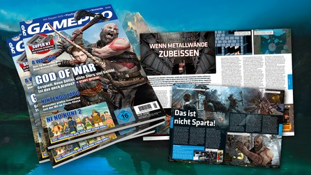 GamePro 5/2018 - ab dem 4.4. am Kiosk! - God of War