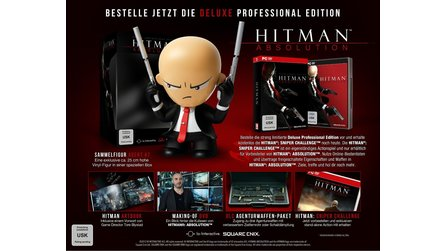 Hitman: Absolution - Update: Unboxing-Video zur »Deluxe Professional Edition«