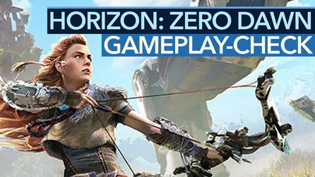 Horizon: Zero Dawn - Gameplay-Check: Kämpfe, Schleichen, Quests ausprobiert