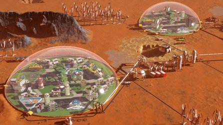 Surviving Mars im Test - Komplex wie SpaceX
