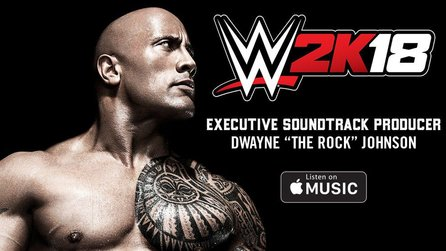 WWE 2K18 - Dwayne The Rock Johnson produziert Soundtrack des Wrestling-Spiels