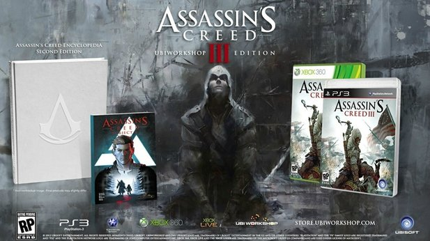 Die »Ubiworkshop Edition« von Assassin's Creed 3.