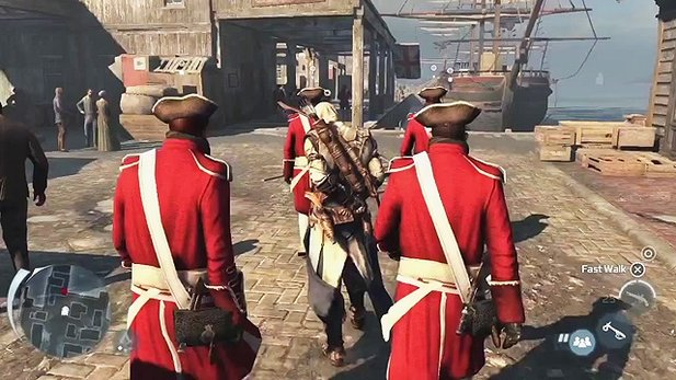 Assassin's Creed 3 - Kommentiertes Gameplay-Video