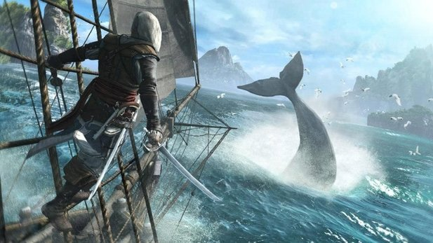 PETA kritisiert den Walfang in Assassin's Creed 4: Black Flag.