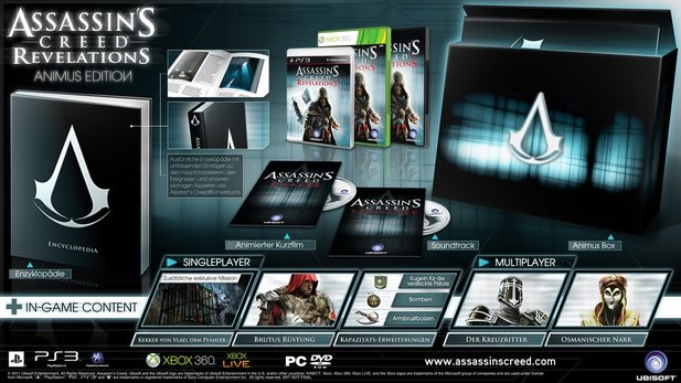 Assassin's Creed: Revelations - Animus Edition : Assassin's Creed: Revelations - Animus Edition
