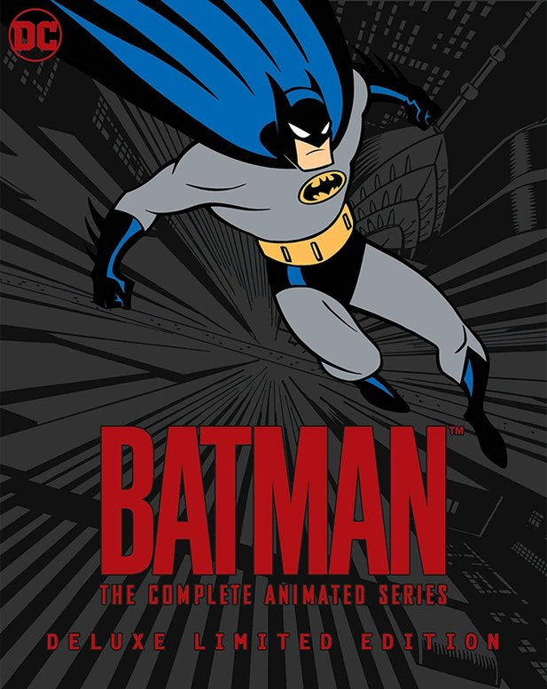 Das Cover der Batman: The Animated Series - Limited Edition auf Blu-ray.