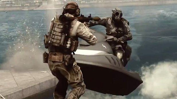 Battlefield 4 - Multiplayer-Trailer: Gameplay zu Lande, zu Wasser & in der Luft