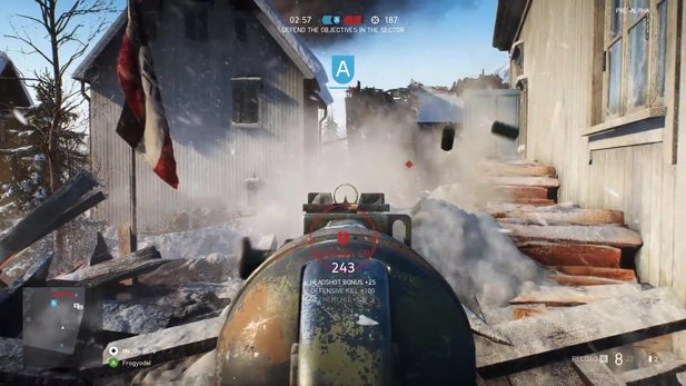 Battlefield 5 - Gameplay-Video: So schick sieht die PC-Version mit GTX 1080Ti aus