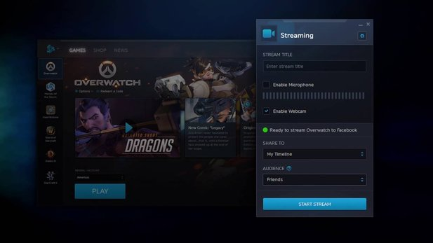 Battle.net - Video stellt Live-Streaming über Facebook vor