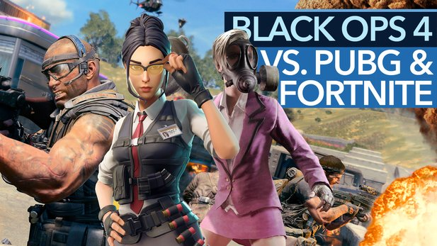 Battle Royale in Black Ops 4 - Video: Blackout kann PUBG schlagen, aber Fortnite nicht! Warum?