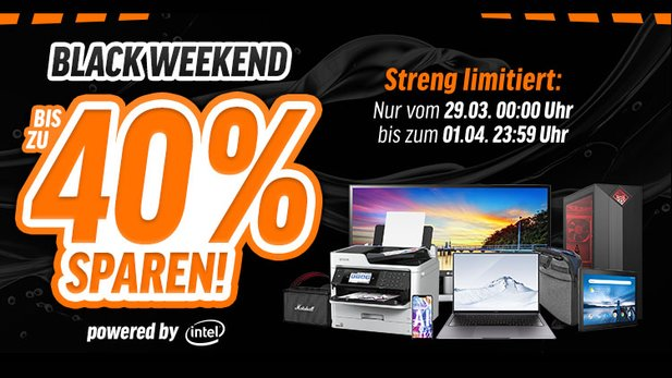 Black Weekend 2019 auf notebooksbilliger.de