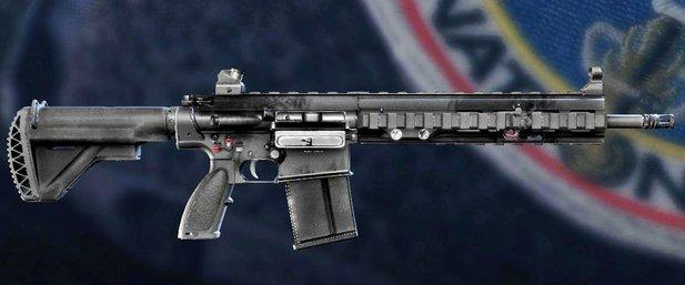 The HK417 in Rainbow Six: Siege.