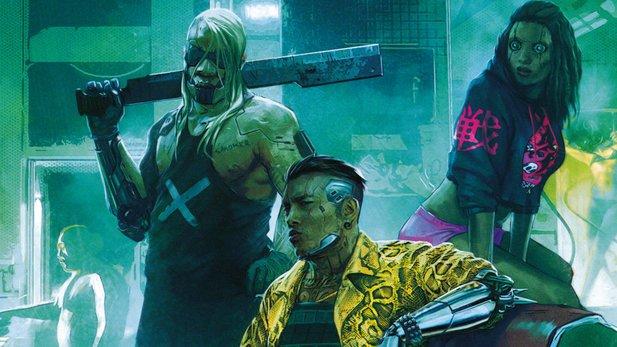 Cyberpunk 2077 scheint toll zu sein