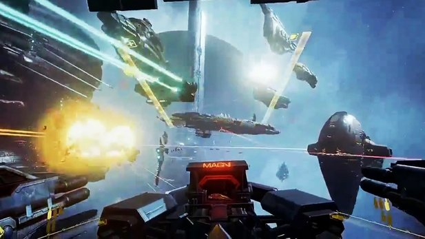 EVE Valkyrie - VR-Trailer zeigt Alpha-Gameplay