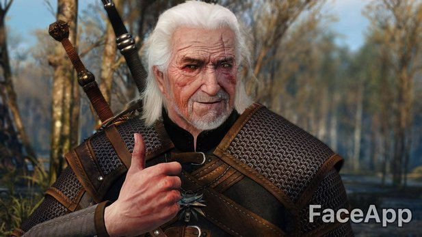 Geralt in alt