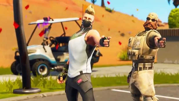 Fortnite: Battle Royale - Battle Pass-Trailer: Golfwagen für zahlende Spieler in Saison 5