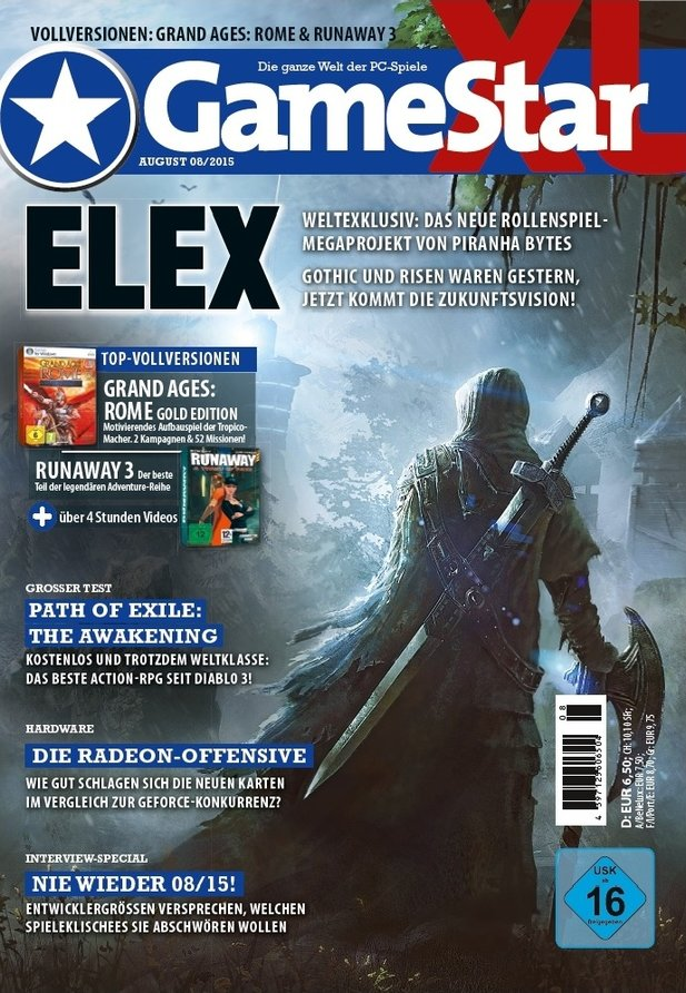 GameStar 08/15 - ab sofort am Kiosk.