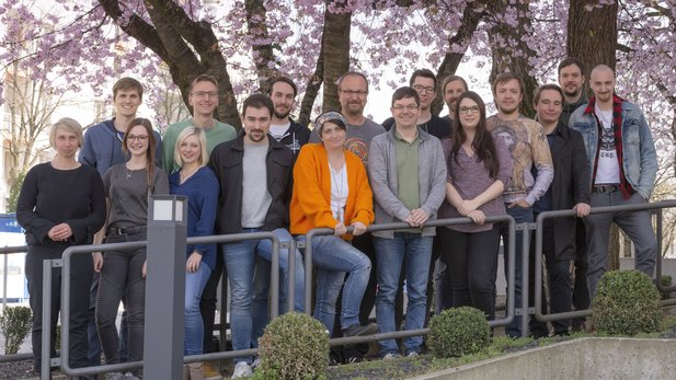 Das GameStar-Team im April 2019.