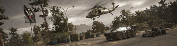 Auch neu in Ghost Recon: Wildlands: Das Unidad Vehicle Pack.