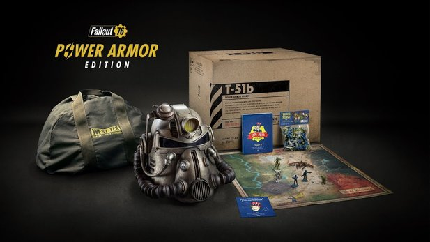 Die Fallout 76 Power Armor Edition kostete in etwa 200 Euro.