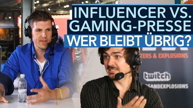 Influencer vs. Gaming-Journalismus - Video: Wer bleibt am Ende übrig?