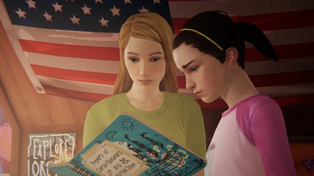 "Life is Strange: Before the Storm - Launch-Trailer zur Bonus-Episode ""Lebewohl"" verabschiedet Chloe & Max"