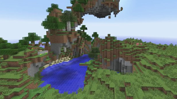 Minecraft - Gameplay-Video zum Terrain-Generator