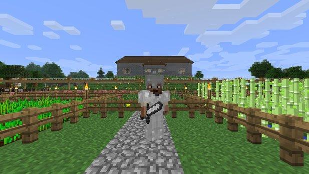 Minecraft PC Konsole Mobile Welche Version Kann Was GameStar - Minecraft konsole und pc zusammen spielen