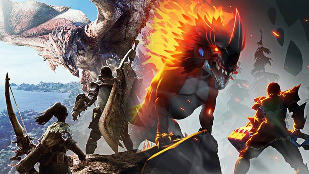 Monster Hunter World vs. Dauntless im Vergleich