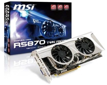 MSI R5870 Twin Frozr II