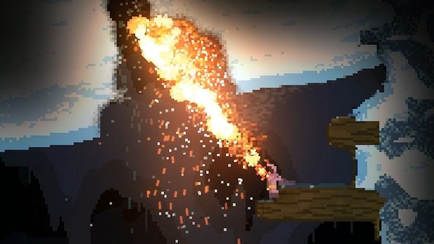 Noita - Gameplay-Trailer zum cleveren Pixel-Kleinod
