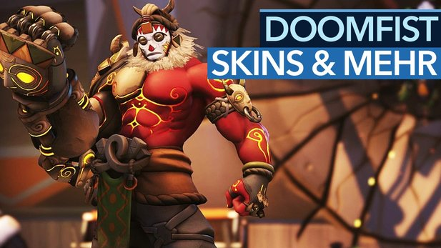 Overwatch - Doomfist: Alle Emotes, Skins, Siegerposen, Sprüche und Highlight-Intros im Video