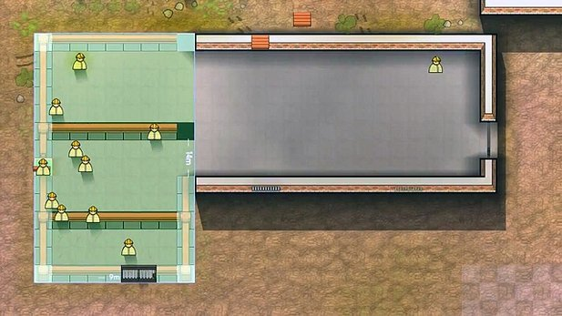 Gameplay-Trailer zu Prison Architect