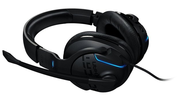 7.1-Gaming-Headset mit Beleuchtung: Roccat Khan Aimo