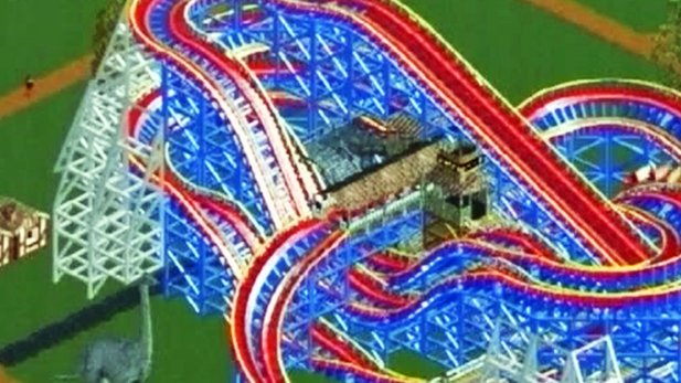 Rollercoaster Tycoon 2 - Test-Video
