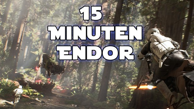 Star Wars: Battlefront - 15 Minuten Endor-Gameplay